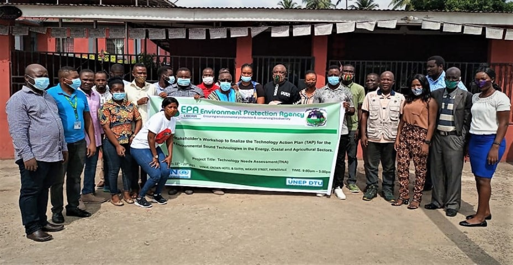The EPA and its partners GEF and the UNFCCC held a national stakeholders workshop in Paynesville, outside Monrovia as part of the TNA Project implementation plan in Liberia.