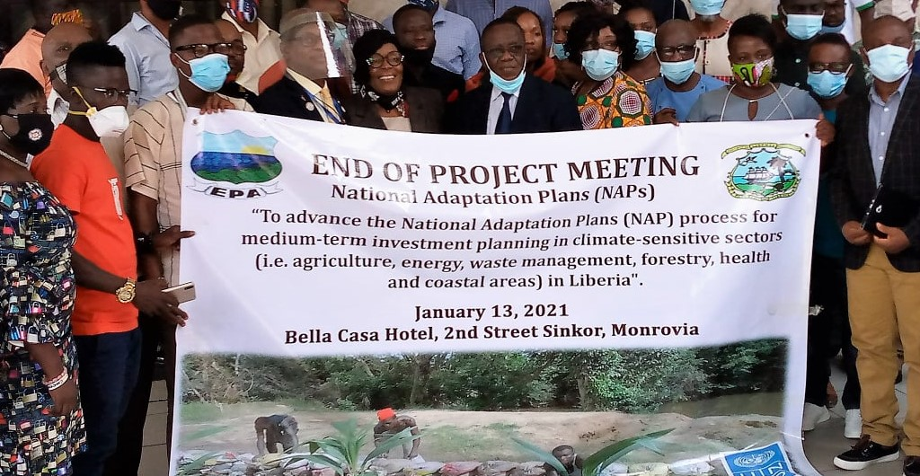 The EPA and the UNDP, on Wednesday, January 13, 2021 held the project closure meeting for the National Adaptation Plan (NAP) Project.
