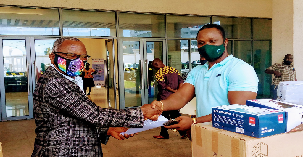 Conservation International (CI), on May 11 2021, donated several assorted office equipment to the Ministry of Agriculture.