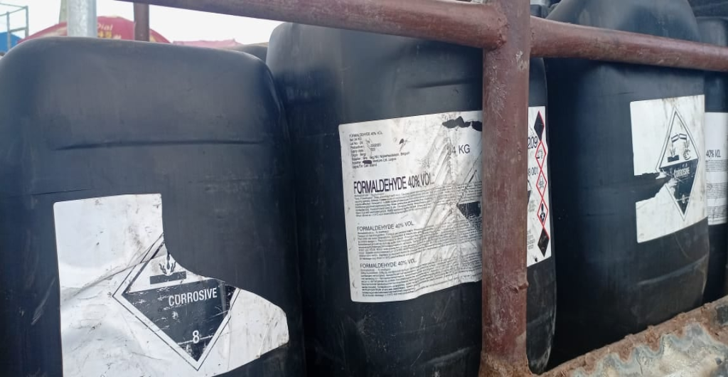 EPA Fights Against Illicit Chemical Trade in Liberia