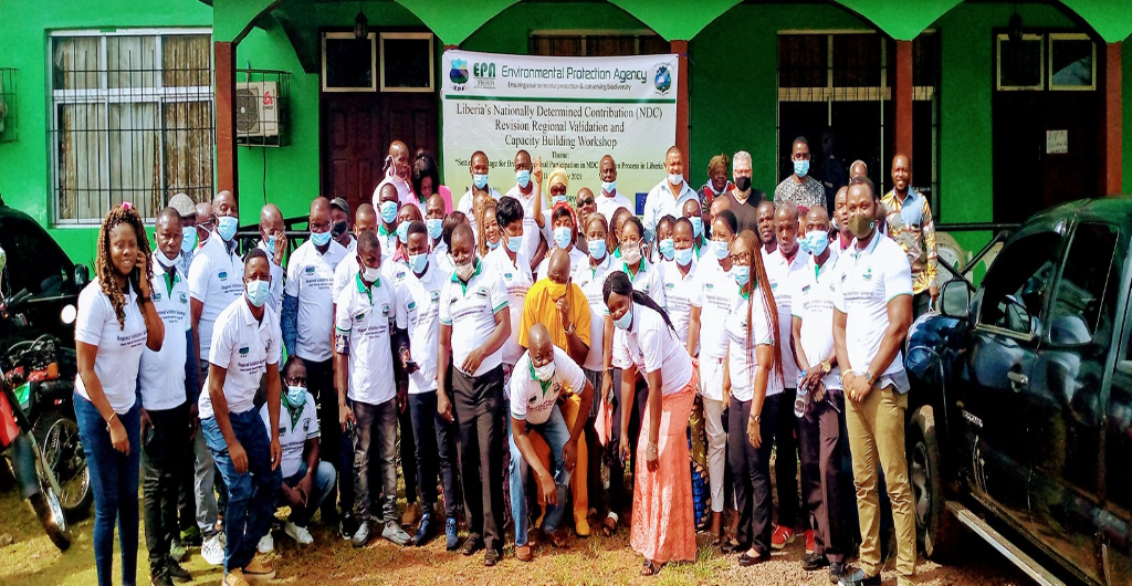 Conservation International, UNDP, EU-Liberia Climate Change Alliance + Project, and EPA held the first NDC Revision