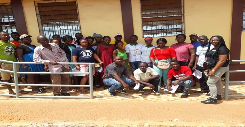 EPA's Conservation Unit of the Department of Compliance  & Enforcement and Department of Intersectoral Holds a One-Day Stakeholders Meeting with Peace Island Community