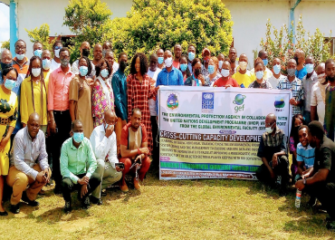 The Cross-Cutting Capacity Development Project Implemented by the EPA in collaboration with UNDP and Funded by GEF Conducts a 3-Day EKMS Training