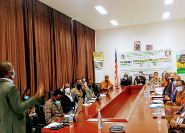 Members of the National Climate Change Steering Committee (NCCSC) Meet